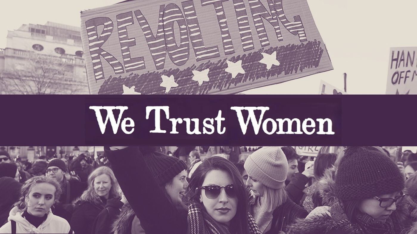 We trust women image
